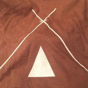 Tribe Kelley Surf Post Tee Pee Logo TShirt
